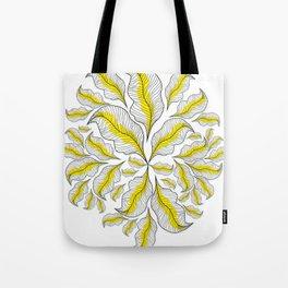 yellow---line Tote Bag