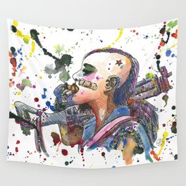 Tank Girl Wall Tapestry