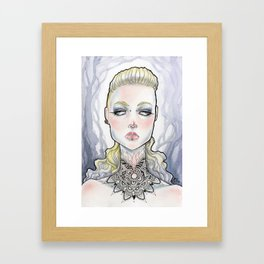 Veronica Framed Art Print