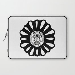 THIRD EYE FLOWER Laptop Sleeve