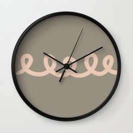 We are connected Wall Clock