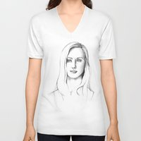 karen V-neck T-shirts featuring Karen Page by Bitterness