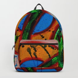 Composition #20A by Michael Moffa Backpack