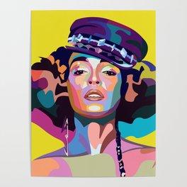 Janelle M Poster