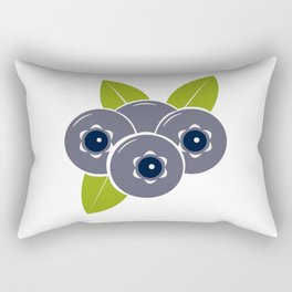 Blueberry Rectangular Pillow