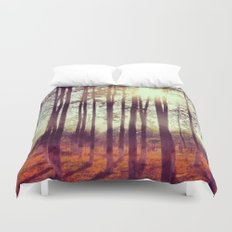 Somewhere in China Duvet Cover