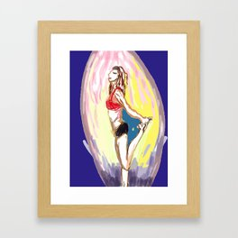 little heqi Framed Art Print