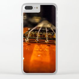 Bass Of Ace Clear iPhone Case