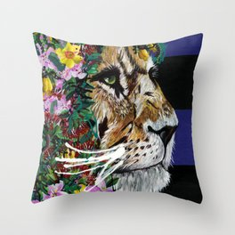 Sun King Throw Pillow