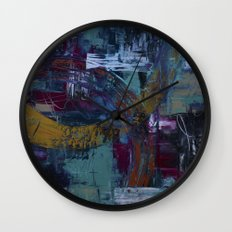 In the Fray Wall Clock