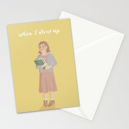 When I Grow Up Stationery Cards