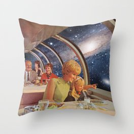 COSMIC HOLIDAY Throw Pillow