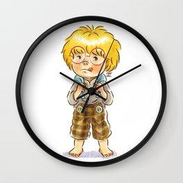 wan -O.O- Wall Clock