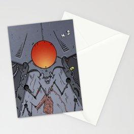 Robo Knit Stationery Cards