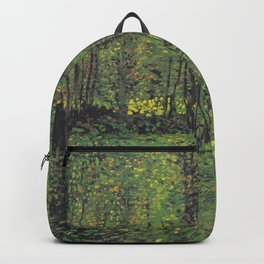 Vincent van Gogh - Trees and Undergrowth Backpack