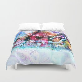 A Home For All Seasons Duvet Cover