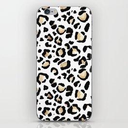 Leopard Animal Print Watercolour Painting iPhone Skin