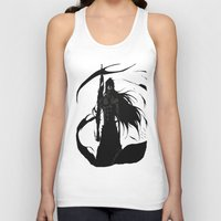 bleach Tank Tops featuring KUROSAKI ICHIGO BLEACH by Prince Of Darkness
