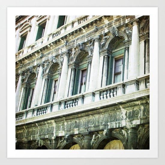 The Facade - Venice Art Print