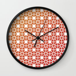 Traditional chinese paper cut  Wall Clock