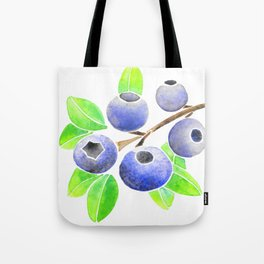 Blueberry Summer Tote Bag