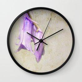 Pale Blue Wall Clock