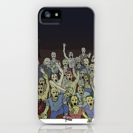 Zombies!!! iPhone Case