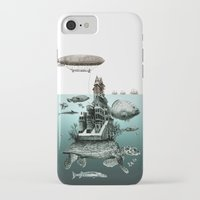 sea turtle iPhone & iPod Cases featuring turtle by Кaterina Кalinich