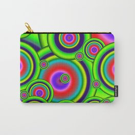 Psychedelic Spirals Carry-All Pouch