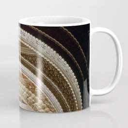 Abencerrajes room. Arch details. The Alhambra Palace Coffee Mug