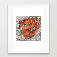 carpe diem Framed Art Prints featuring Carpe Diem by anipani