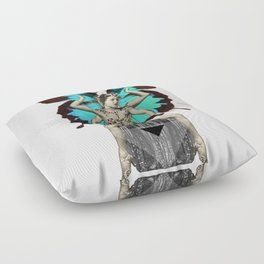 Butterfly Priestess  Floor Pillow