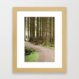 Scottish highlands adventure Framed Art Print