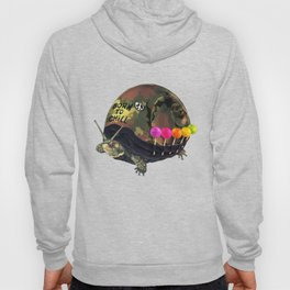 """Born to Chill"" Full Metal Snail Turtle Hoody"