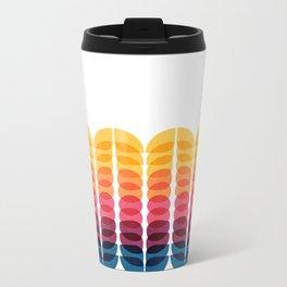 Metamorphosis Pattern Metal Travel Mug