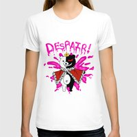 dangan ronpa T-shirts featuring Monokuma by Alightedsylph