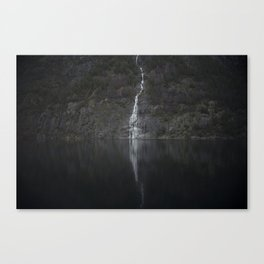 Waterfall (The Unknown) Canvas Print