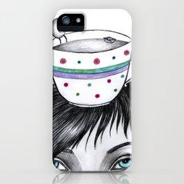 mujer taza iPhone Case