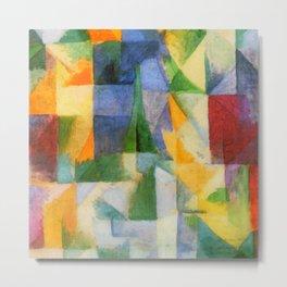 "Robert Delaunay ""The Window"" Metal Print"