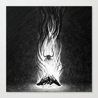 devil Canvas Prints featuring Devil by Brian Luong