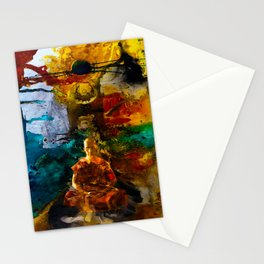 Monk Trip Stationery Cards