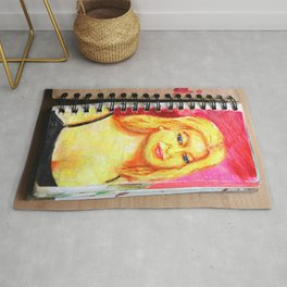 Euro Blonde from A Sketchbook Rug