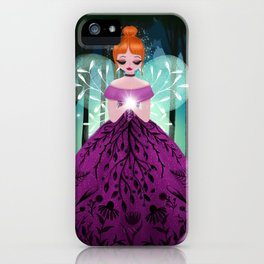 In The Ancient Forest The Woodland Fairy Walks iPhone Case