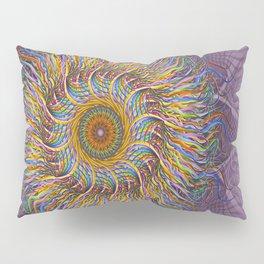 A Simple Twist Pillow Sham