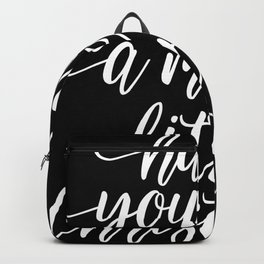 Have Yourself A Merry Little Christmas Xmas Love Backpack