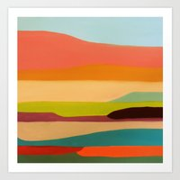 palo alto Art Prints featuring alto by sylvie demers