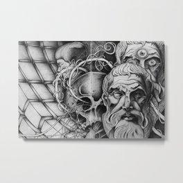 A B S E N C E Metal Print