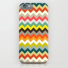 retro chevron iPhone 6s Slim Case