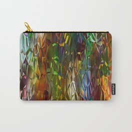Abstract Gass Carry-All Pouch