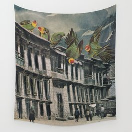 Visitors Wall Tapestry